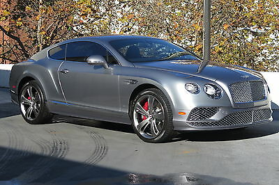 2016 Bentley Continental GT Speed Coupe in Hallmark with 10,087 miles 2016 BENTLEY CONTINENTAL GT SPEED COUPE IN HALLMARK WITH BELUGA LOW MILES