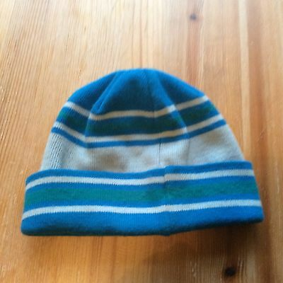 Child Vancouver 2010 Winter Olympic Beanie hat blue/ green official merchandise