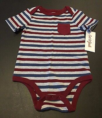 Cat & Jack Striped One-Piece Outfit Size 6-9 months New with Tags