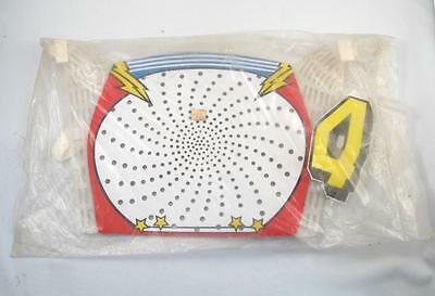 Vintage Old School Bmx Bicycle Number Plate Nos Mint In Package