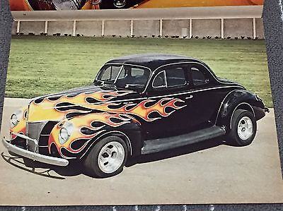 "Collectors! Vintage 1970 Street Rod Pictorial"" Issue #2! Tom McMullen's '32 Ford"