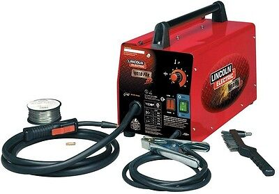 Lincoln Electric Weld Pack HD Feed Steel Wire Welder Flux Machine Portable New