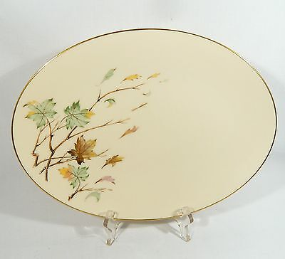 LENOX China WESTWIND 16 inch Serving  PLATTER   Vintage AUTUMN LEAVES  X407