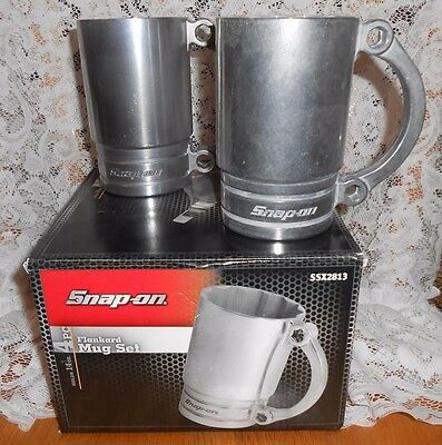 SNAP ON Mug Set in Box-Hard to Find