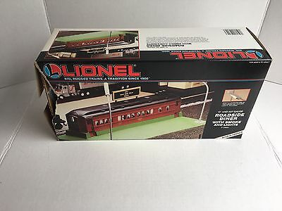 Lionel Roadside Diner W/ Smoke And Light 6-12802 Brand New NIB