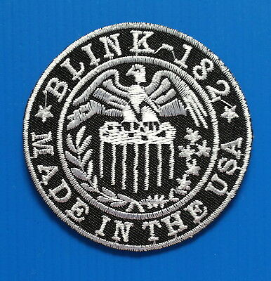 BLINK 182 BAND Embroidered Easy Iron On Patch W/ FREE SHIPPING