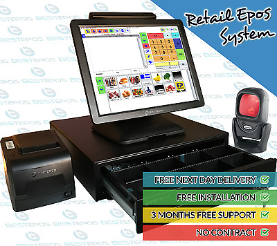 Best Epos M2 Epos Barcode Touch Screen Till System for Retails