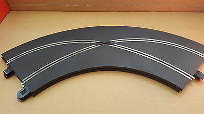 Scalextric Sport Track - 2 x crossover curves.