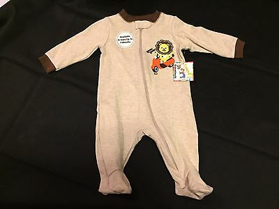Garanimals Baby Outfit Sleeper w/ Lion on Scooter Size 3-6 months New with Tags