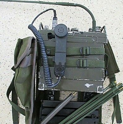 Vietnam To Gulf War Military Prc-77 Radio In Working Order Complete Ces Prc 77