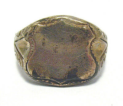 Victorian Gold Filled Signet Ring Size 10.25  9.2 Grams