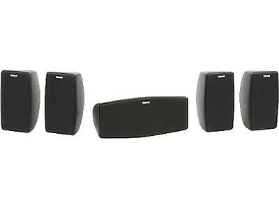 NEW Klipsch Quintet V 5.0 Channel Home Theater System Black Newest Edition