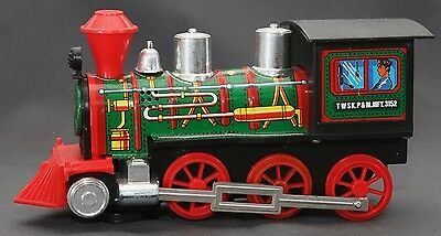RARE VTG 80's Daishin Japan Battery Op TWSK.P&M.MFY.3152 Loco Train Toy WORKS
