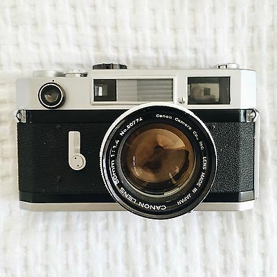 Canon 7s Rangefinder With 50mm f/1.4