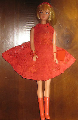 vintage barbie outfit with doll