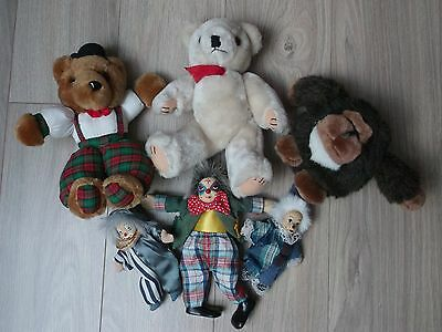 Lot De 5 Peluches