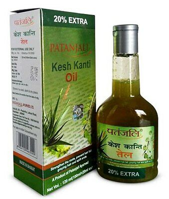 Patanjali Kesh Kanti Hair Oil (100ml + 20ml Extra) 120ml