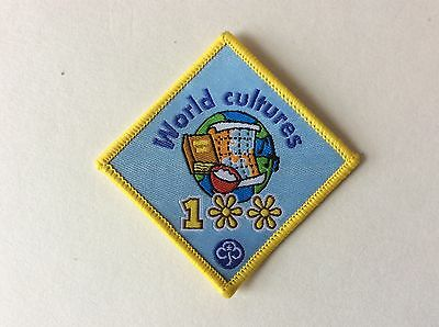 Girl Guide Badge - 100 Years Celebration Badge -  World Cultures