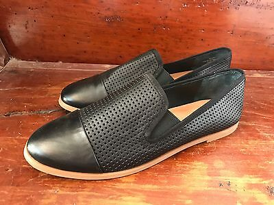 Wittner Black Flats. Size 38. Brand New Without Box. Leather.