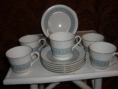 Royal Doulton Counterpoint H5025 Trio Cup, Saucer & Tea Plate,5 AVAILABLE