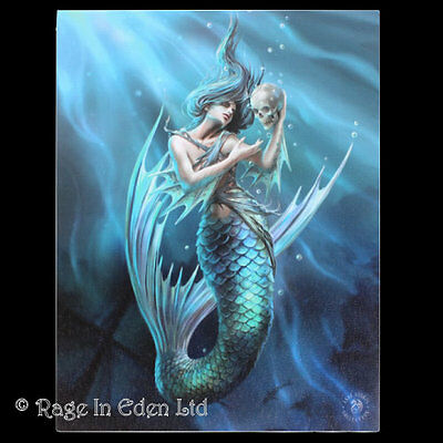 *SAILOR'S RUIN* Gothic Mermaid Art 3D Picture By Anne Stokes (40x30cm approx)