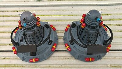 """Doctor Who 3.75""""  Dalek  & Hoverbout  Custom Set Two"""