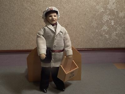 Dolls House  milkman quality detailed figure 1.12th scale