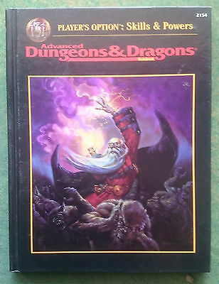 Player's Option: Skills & Powers | AD&D 2nd Edition | HC | TSR2154