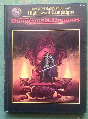 Dungeon Master Option: High-Level Campaigns | AD&D 2nd Edition | HC | TSR2156