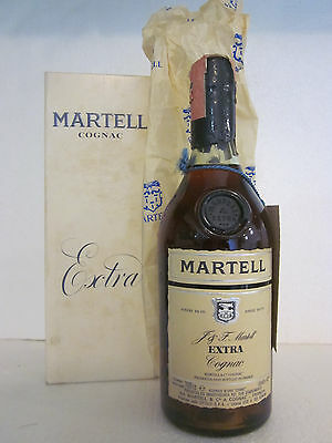 J&F. Martell EXTRA Cognac bottle n° 295 of 500 Corked Cap 70cl 43% 1979 BOXED