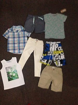 Boys Clothes Size 4 Bulk 7 Great Summer Items Rip Curl, Milkshake Outfits