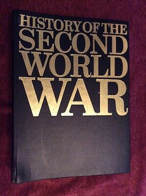 History Of The Second World War (Volume 2, 4, 5 & 6) Purnell 1966