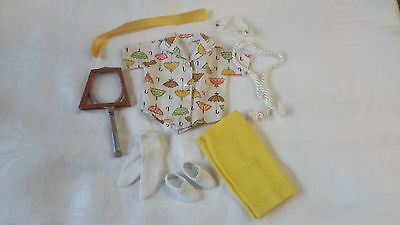 Vintage Ideal Tammy Doll Clothes, Tennis The Menace Outfit, Complete & Nice!!