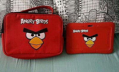 Angry birds tablet bag and gel cover