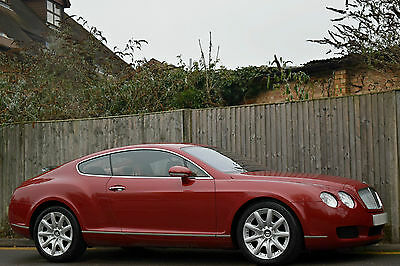 Bentley Continental Gt 6.0 W12 [Twin Turbo] 2Dr Coupe Petrol Auto 2004 [04] Red