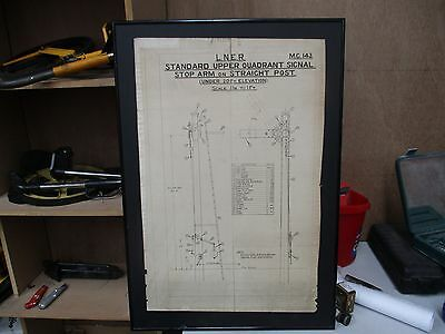 LNER Mechanical Signal drawing
