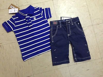 Boys Clothes Size 2 Bnwt Cotton On Shirt And Esprit Shorts Summer Outfit