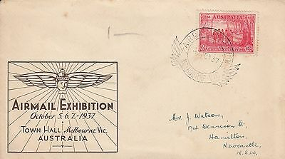 P 1786 Airmail Exhibition Melbourne October 1927 cover