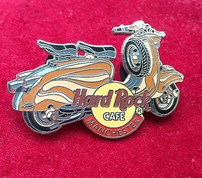 Hard Rock Cafe Pin Badge Manchester Scooter Series.
