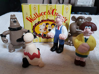 Wallace and Gromit  A Close Shave Figures Boxed