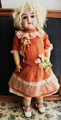 Dress for an antique doll about 24-25""