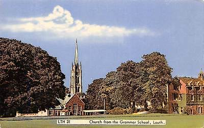 Ireland Louth Church from the Grammar School, Contae Lu