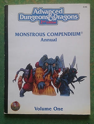 Monstrous Compendium Annual, Volume One | AD&D 2nd Edition | TSR2145