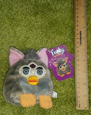 Small vintage 1990s Furby plush soft toy doll