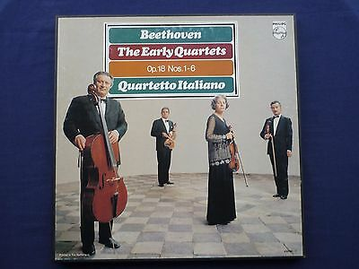 Beethoven Early String Quartets 3LP Box Set, Quartetto Italiano Philips 6703 081