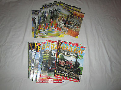 British Steam Railway Magazines (without the DVD's)
