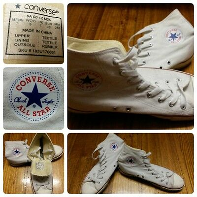 UNISEX - CONVERSE Chuck Taylor High CUT shoes