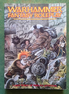 Warhammer Fantasy Roleplay (+ Character Sheets) | WFRP | Games Workshop
