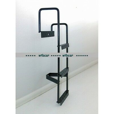 metal construction ladder model black painted For 1/14 Tamiya Scaleart Carson