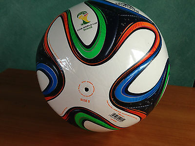 Brand New Adidas Brazuca Top Replique 2014 World Cup Brazil Soccer Ball Size 5